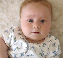 4 månaders bebis