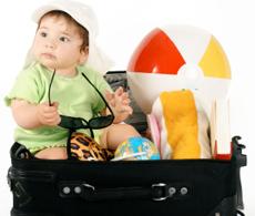 resa med bebis